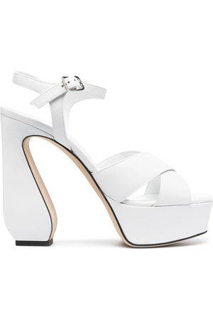 Sergio Rossi Women Sandals - Open-toe heeled sandals