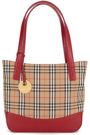 Burberry Women Handbags - Nova check tote bag