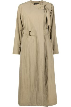 Isabel Marant Oversized asymmetric trench coat