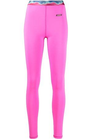 Msgm Graphic-print leggings