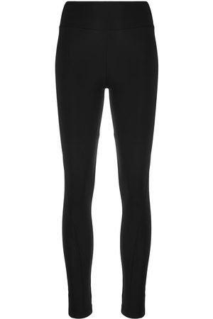 Y-3 Logo-print stretch-fit leggings