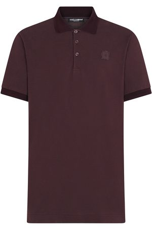 Dolce & Gabbana DG patch polo shirt