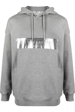 Givenchy Brushed logo cotton hoodie