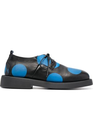 MARSÈLL Polka-dot leather derby shoes