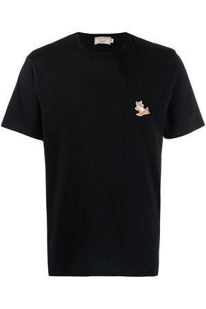 Maison Kitsuné Logo-print short-sleeved T-shirt