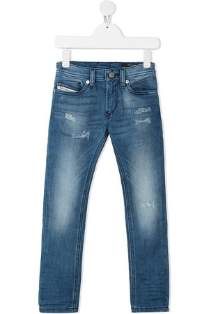 Diesel Boys Slim - Slim faded jeans