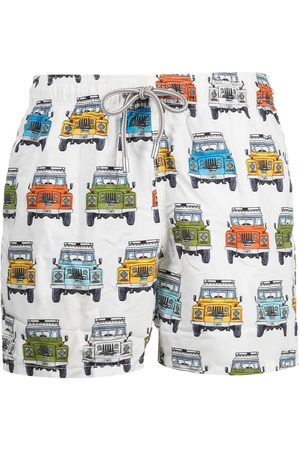 MC2 SAINT BARTH Truck print swim shorts