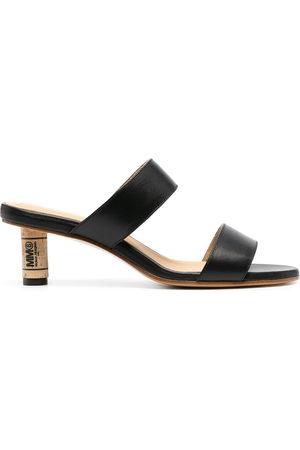 MM6 MAISON MARGIELA Cork heel sandals