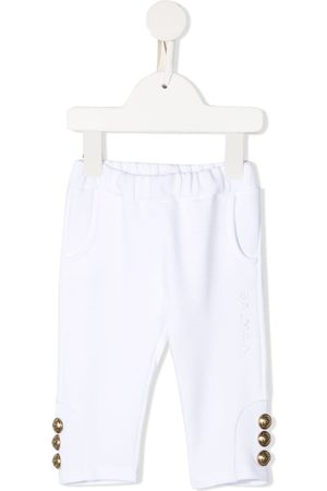 Balmain Button-detail track pants