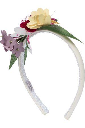 MONNALISA Girls Headbands - Floral corsage headband
