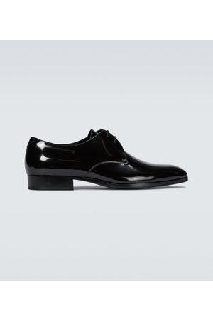 Saint Laurent Wyatt patent leather derby shoes