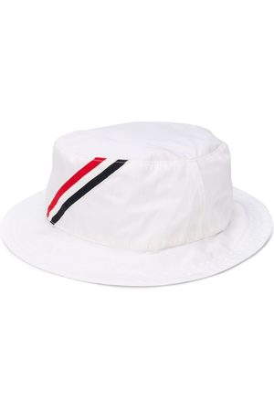 Thom Browne Men Hats - RWB-stripe bucket hat