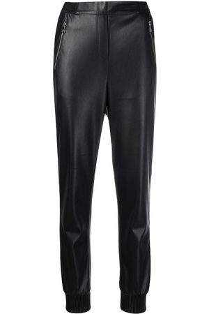 Karl Lagerfeld Women Trousers - Mid-rise straight-leg trousers