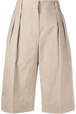 Brunello Cucinelli Women Shorts - Wide leg shorts