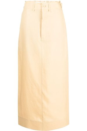 Jacquemus Slit-detail high-waisted skirt