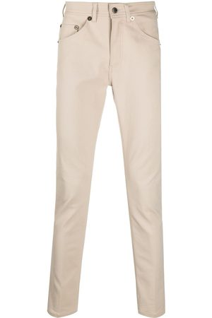 Neil Barrett Logo-patch slim-cut trousers