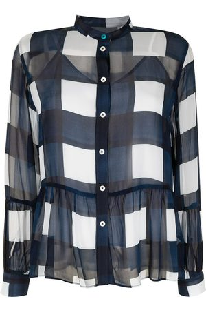 Paul Smith Bold-checked blouse