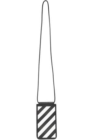 OFF-WHITE Men Wallets - Diag stripe phone pouch