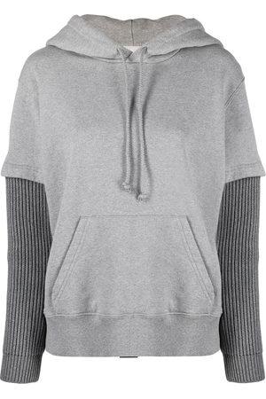MM6 MAISON MARGIELA Women Hoodies - Layered hoodie