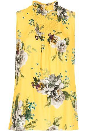 Erdem Women Tops - Ralph Carnation Bouquet-print top