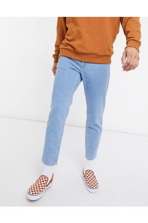 ASOS Men Jeans - Classic rigid jeans in light stone wash
