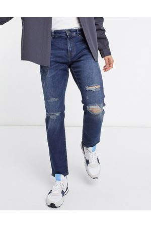 New Look Slim jeans with rips in mid