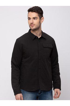 Kenneth Cole Men Black Solid Tailored Jacket