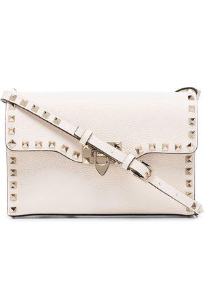 VALENTINO GARAVANI Rockstud leather shoulder bag