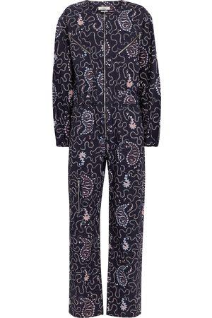 Isabel Marant Nilaney printed cotton canvas jumpsuit