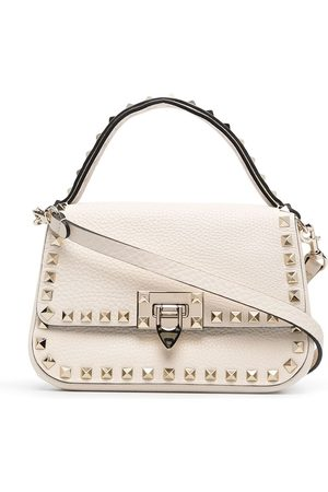 VALENTINO GARAVANI Women Handbags - Small Rockstud grainy handbag