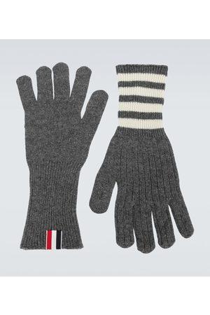 Thom Browne Men Gloves - Cashmere gloves