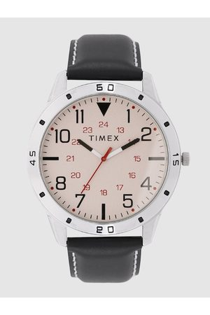 Timex Men Cream-Coloured Analogue Watch TW00ZR290E