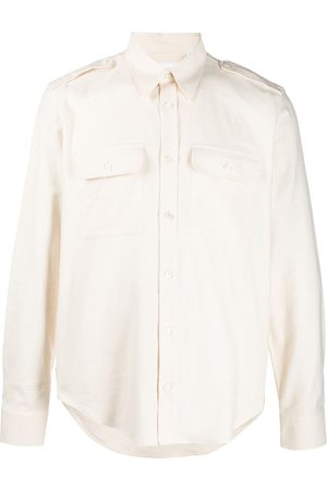 Helmut Lang Men Long sleeves - Long-sleeved strappy shirt