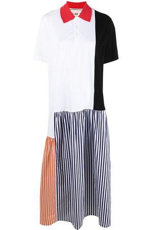 Plan C Women Casual Dresses - Colour-block shirt dress