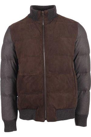 Gimo's Men Leather Jackets - Gimos Jack Leer/Suede Anthraciet 20AL.1.070.35.634.