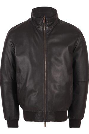 Gimo's Men Leather Jackets - Gimos Jas Leer/Suede Bruin 20al.r.060cc