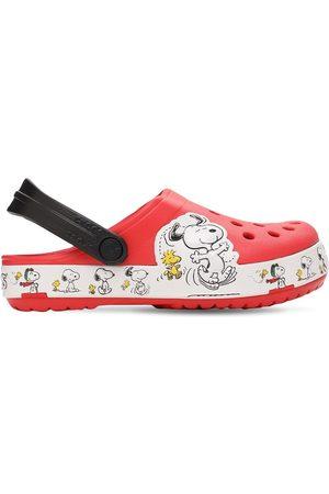 Crocs Snoopy Embossed Rubber