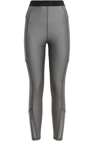 Moncler Women Stretch Trousers - Technic Stretch Jersey Leggings