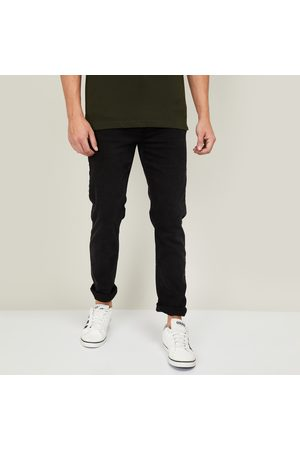 Denimize Men Slim - Men Solid Slim Tapered Fit Jeans