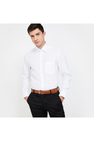 Louis Philippe Solid Regular Fit Formal Shirt