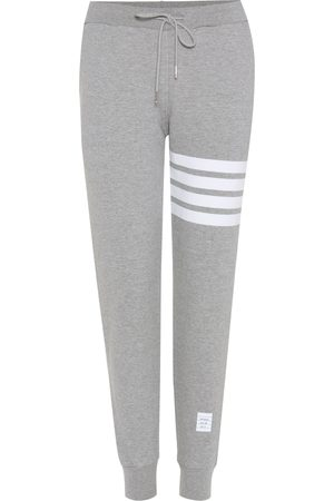 Thom Browne Women Trousers - Cotton track pants