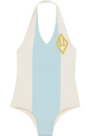 The Animals Observatory Striped swimsuit