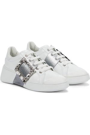 Roger Vivier Women Sneakers - Viv' Skate leather sneakers