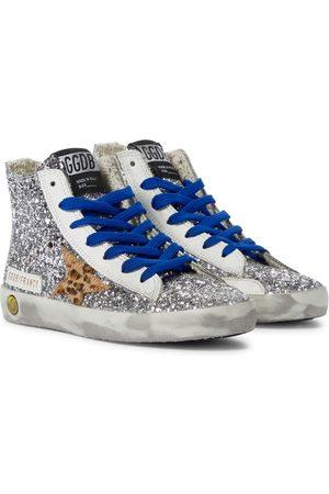 Golden Goose Francy glitter high-top sneakers