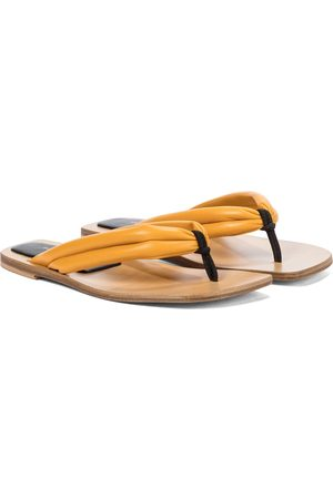DRIES VAN NOTEN Women Platform Sandals - Leather thong sandals