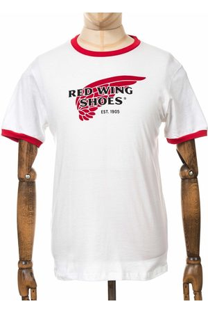 Red Wing 97406 Ringer Logo Tee - /Red Colour: /Red