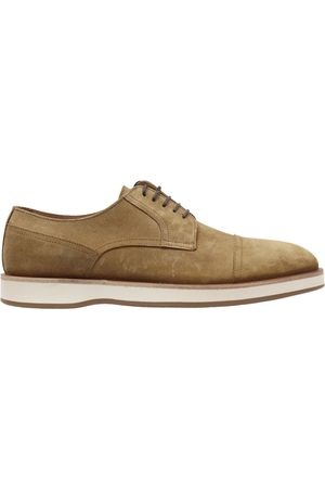 HUGO BOSS Oracle Suede Derby Shoes