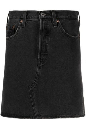 Levi's Women Denim Skirts - High-waist denim skirt