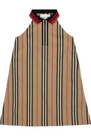 Burberry Girls Dresses - Icon Stripe cotton gabardine dress