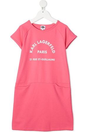Karl Lagerfeld Logo print t-shirt dress